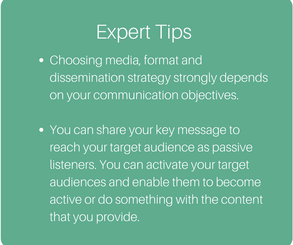 4. Plan your dissemination & communication strategy
