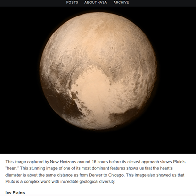 Pluto Fly-By