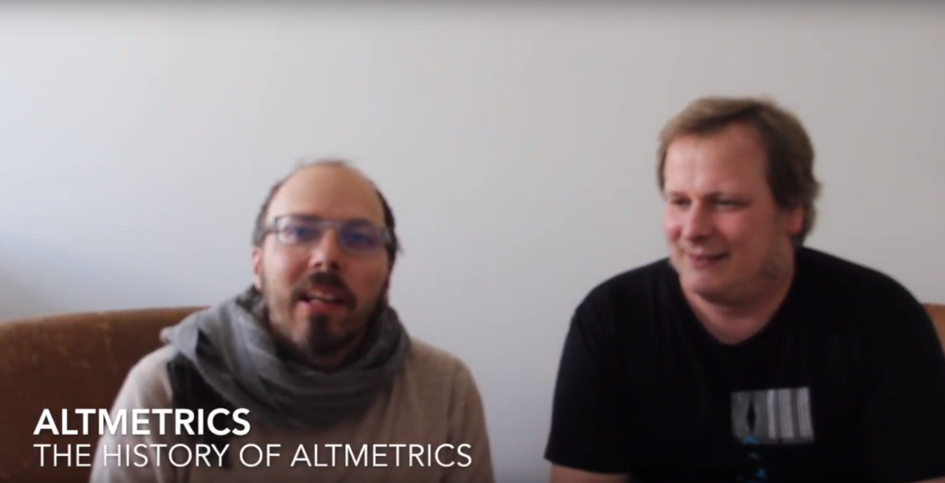 History of Altmetrics, OpenUP project