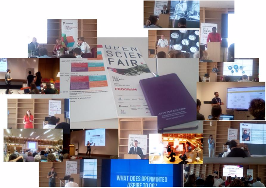 1st OPEN SCIENCE FAIR Report, Athens, September 2017 (Closing Thoughts)
