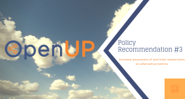 OpenUP policy recommendations No 3 (Assessment)