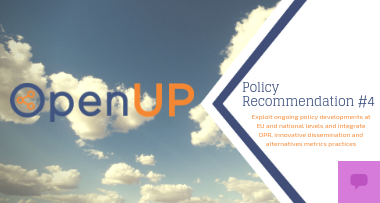 OpenUP policy recommendations No 4